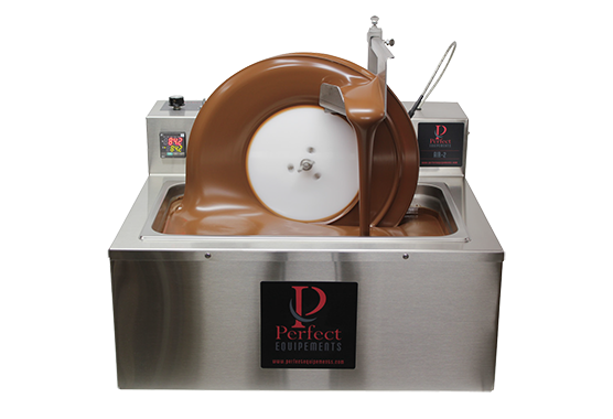 Chocolate Mini Wheel Tempering Machine Perfect Choco